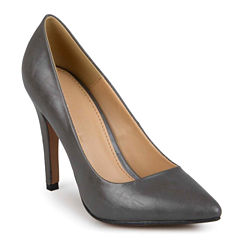 Journee Collection Yoko Pointed Toe Pumps in Wide Width