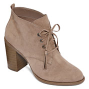 a.n.a® Miki Lace-Up Ankle Booties