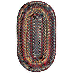 Capel Eaton Braided Oval Rug