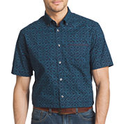 Van Heusen® Short-Sleeve Woven Button-Front Shirt