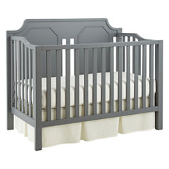 Savanna Carli Convertible Crib - Grey