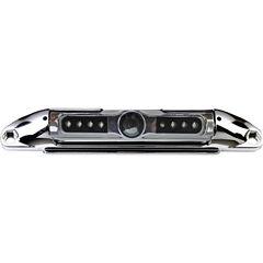 BOYO Vision VTL400CIR Bar-Type 140° License PlateCamera with IR Night Vision & Parking-Guide Lines(Chrome)