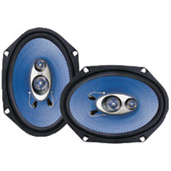 Pyle PL683BL Blue Label Speakers (6IN x 8IN; 3 Way)