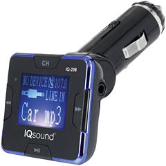 Supersonic IQ-206 Wireless FM Transmitter with 1.4IN Display
