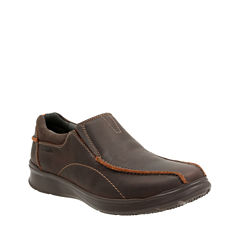 Clarks® Cotrell Step Mens Leather Casual Shoes
