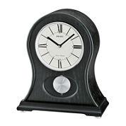 Seiko® Mantel Clock With Quarter-Hour Chime And Pendulum Qxq027klh