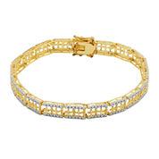 Classic Treasures™ Diamond Accent Chain Bracelet