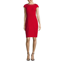 Alyx Short Sleeve Sheath Dress