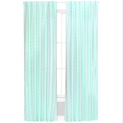 The Peanut Shell Peanut Shell Mix And Match Rod-Pocket Curtain Panel