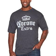 Corona Short Sleeve Graphic T-Shirt-Big and Tall