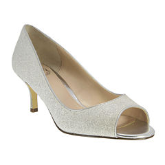I. Miller Celest Open-Toe Pumps