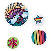 4-pc. Love Handbag Pin Set