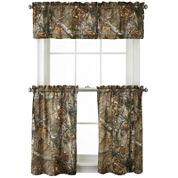 Realtree® Xtra® Camo Rod-Pocket Kitchen Curtains