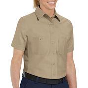 Women's Wrangler® Short-Sleeve Work Shirt