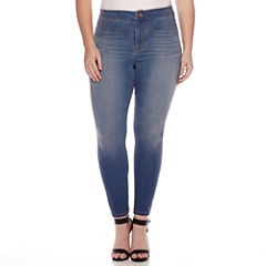 Decree® High-Rise Jeggings - Juniors Plus