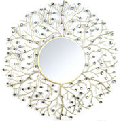 Stratton Home Décor Acrylic Eloise Wall Mirror