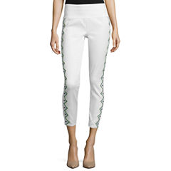 Bisou Bisou® Embroidered Shaper Leggings