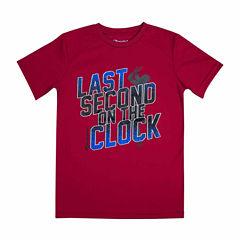 Champion Short Sleeve T-Shirt-Big Kid Boys