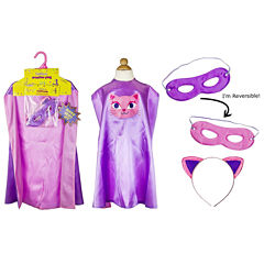 Superhero Girl Cat Cape Kit