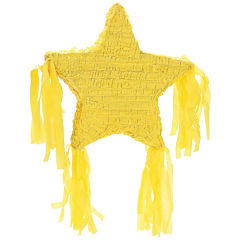 Yellow Star Pinata