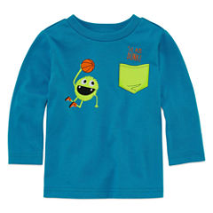 Okie Dokie Long Sleeve T-Shirt-Baby Boys