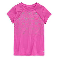 Xersion Short Sleeve T-Shirt-Preschool Girls