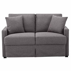 Boston Living Room Collection Track-Arm Upholstered Loveseat