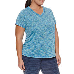 Xersion™ Short-Sleeve Performance Tee - Plus