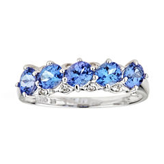 LIMITED QUANTITIES Genuine Oval Tanzanite Sterling Silver Ring