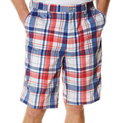 PGA TOUR® Plaid Madras Shorts