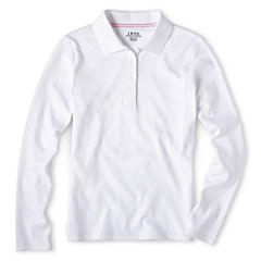 IZOD® Long-Sleeve Polo - Girls 7-18 and Plus