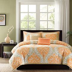 Intelligent Design Sabrina Damask Comforter Set