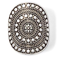 Arizona Textured Design Wide Ring