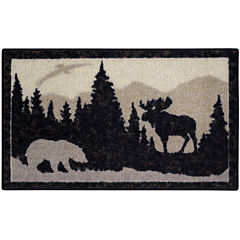 Nature's Silhouette Rectangular Rug