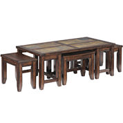 Cargo 5-pc. Nesting Coffee Table Set
