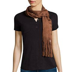 Mixit® Laser Cut Skinny Neck Scarf
