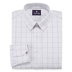 Stafford® Executive Non-Iron Cotton Pinpoint Dress Shirt - Big & Tall