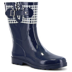 Western Chief Picnic Check Womens Waterproof Rain Boots