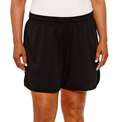 Made For Life Woven Workout Shorts-Plus (6