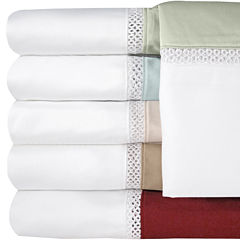 Veratex 500tc Cotton Sateen Embroidered Duet Sheet Set