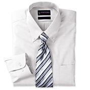 Stafford® Travel Performance Pinpoint Oxford Shirt–Big & Tall