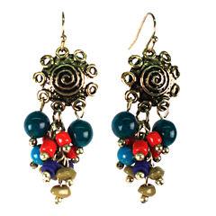 Aris by Treska Cluster Earrings
