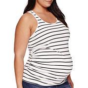 a.n.a® Maternity Racerback Tank Top - Plus
