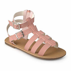 Journee Kids Zoey Girls Gladiator Sandals - Little Kids