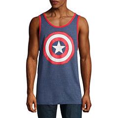 Novelty Season Captain America Tank Top
