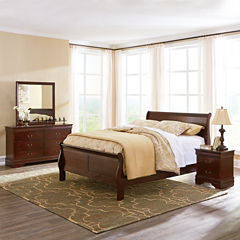 Signature Design by Ashley® Rudolph Bedroom Package + FREE Sierra Sleep Mattress Set