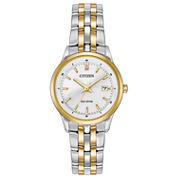 Citizen® Eco-Drive Ladies' Two Tone Watch Ew2404-57A