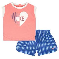 Nike Short Set Baby Girls
