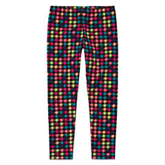 Total Girl Pattern Jersey Leggings - Preschool Girls