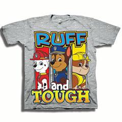 Short Sleeve Paw Patrol T-Shirt-Toddler Boys